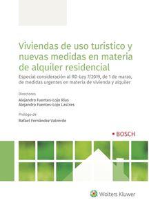 Imagen de Viviendas de uso turístico y nuevas medidas en materia de alquiler residencial