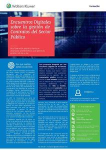 Imagen de Encuentros digitales sobre la gestión de contratos del sector público