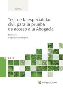 Imagen de Test de la especialidad civil para la prueba de acceso a la abogacía