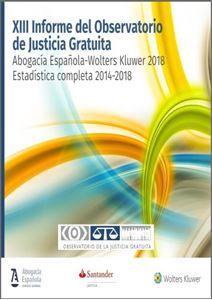 Imagen de Justicia Gratuita. XIII Informe del Observatorio de Justicia Gratuita