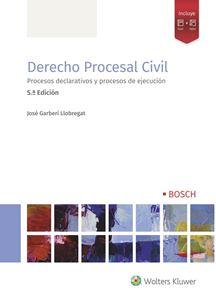 Imagen de Derecho procesal civil -  5ª Ed