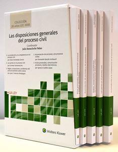 Imagen de Las disposiciones generales del proceso civil (Colección 20 años LEC 2000)