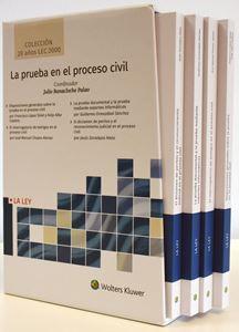 Imagen de La prueba en el proceso civil (Colección 20 años LEC 2000)