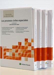 Imagen de Los procesos civiles especiales (Colección 20 años LEC 2000)