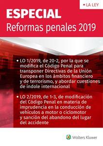 Imagen de ESPECIAL reformas penales 2019
