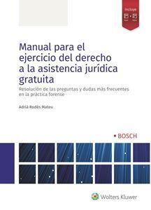 Imagen de Manual para el ejercicio del derecho a la asistencia jurídica gratuita