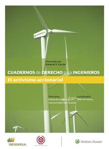 Imagen de Cuadernos de Derecho para ingenieros n.º 50. El activismo accionarial