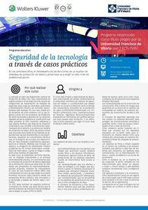 Imagen de Programa de especialización Seguridad de la Tecnología a través de casos prácticos