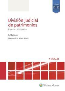 Imagen de División judicial de patrimonios. 3ª ed