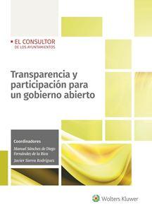 Transparencia y participación para un gobierno abierto
