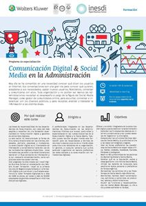Imagen de Programa de especialización Comunicación digital y social media en la Administración