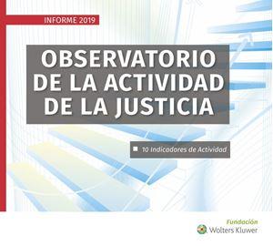 Imagen de Observatorio de la actividad de la Justicia. Informe 2019