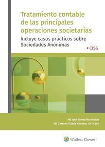 Imagen de Tratamiento contable de las principales operaciones societarias