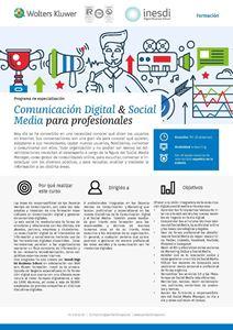 Imagen de Programa de especialización Comunicación digital y social media para profesionales