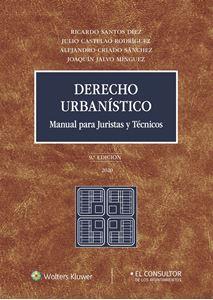 Imagen de Derecho urbanístico. Manual para juristas y técnicos. 9.ª edición