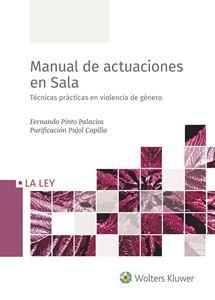 Imagen de Manual de actuaciones en Sala. Técnicas prácticas en violencia de género
