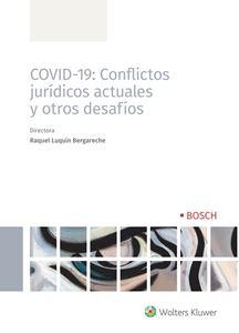 Imagen de COVID-19: Conflictos jurídicos actuales y otros desafíos