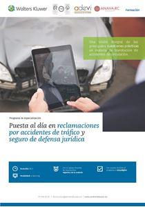 Imagen de Programa de especialización Puesta al día en reclamaciones por accidentes de tráfico y seguro de defensa jurídica