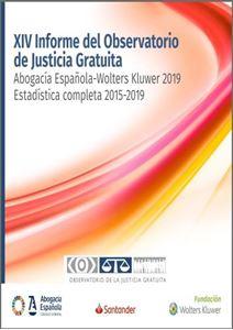 Imagen de Justicia Gratuita. XIV Informe del Observatorio de Justicia Gratuita