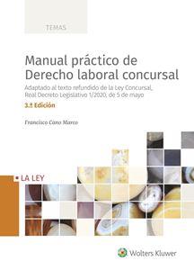 Imagen de Manual práctico de Derecho laboral concursal 3.ª edición