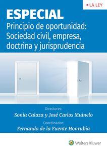 Imagen de Principio de oportunidad: Sociedad civil, empresa, doctrina y jurisprudencia