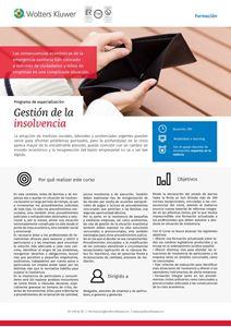 Imagen de Programa de especialización Gestión de la insolvencia