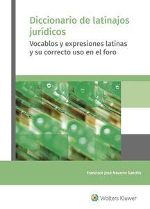 Imagen de Diccionario de latinajos jurídicos