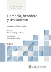 Imagen de Herencia, heredero y testamento  (Colección ¿Qué hay que saber sobre...?)