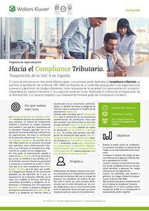 Programa de especialización Hacia el Compliance Tributario. Transposición de DAC6 en España