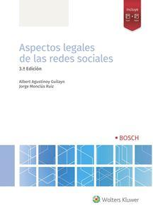 Aspectos legales de las redes sociales. 3.ª ed.