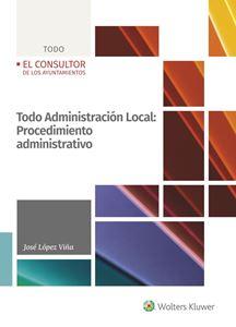 Todo Administración Local: Procedimiento administrativo
